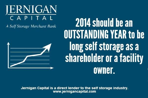 Expectations for self storage in 2014